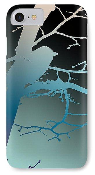 Bird At Twilight IPhone Case by Lauren Radke