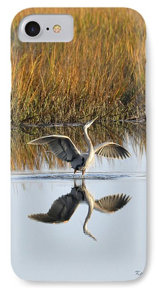 IPhone Case featuring the photograph Bird Dance by Kay Lovingood