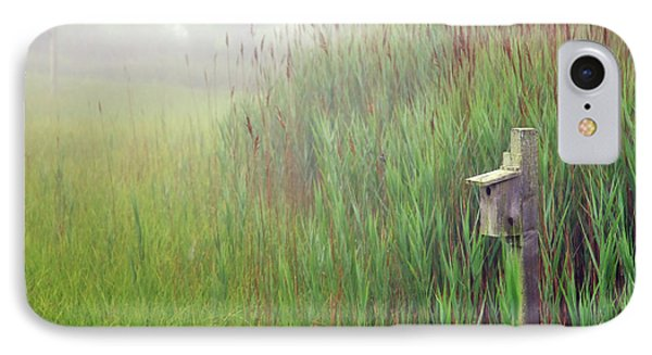 Bird House In Quogue Wildlife Preserve Phone Case by Rick Berk