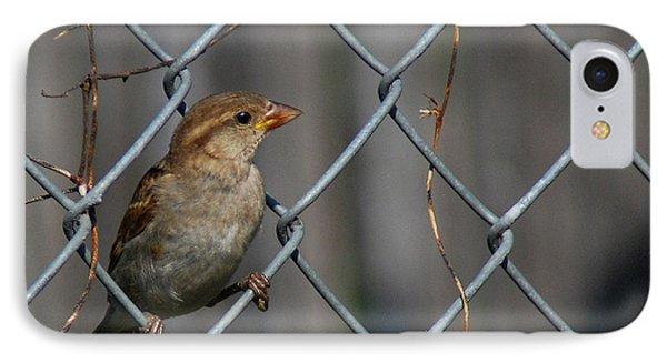 Bird In A Wire Phone Case by Joe Wicks