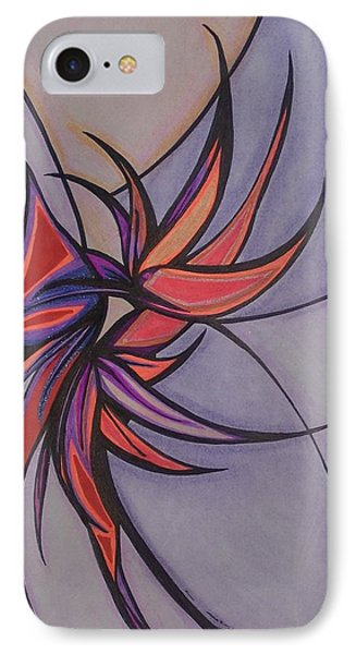 Bird Of Paradise Phone Case by Tara Francoise
