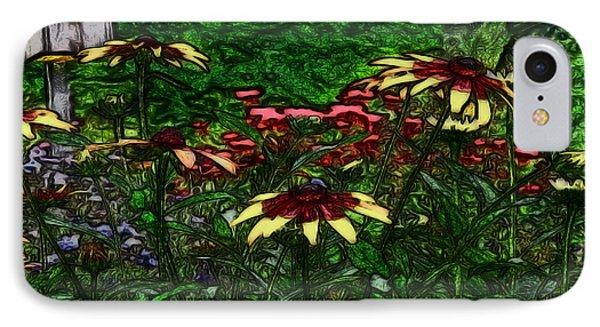 Birdhouse Garden Phone Case by Debra     Vatalaro