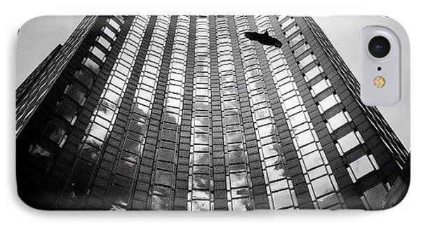 Birds Amongst The Skyscrapers Of New York City IPhone Case