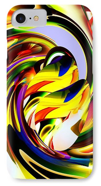 IPhone Case featuring the digital art Birds by Hai Pham