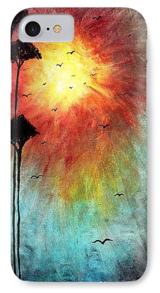 Birds Of The Sun Phone Case by Michael Grubb