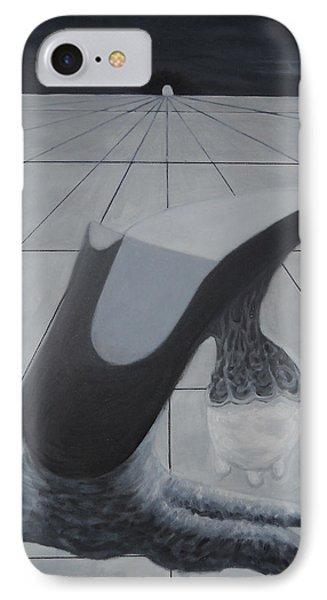 Birth Of A New Shoe Phone Case by Duwayne Washington
