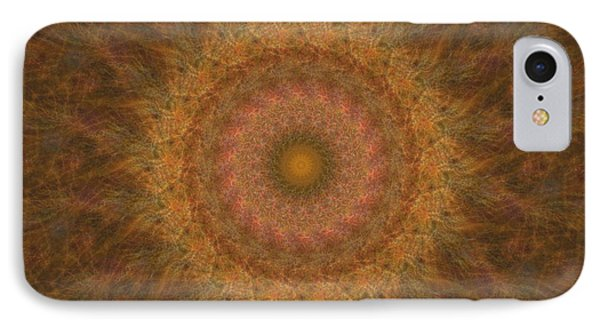 Birthing Mandala 18 Phone Case by Rhonda Barrett
