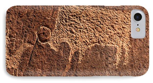 Bison Hunt Phone Case by David Lee Thompson