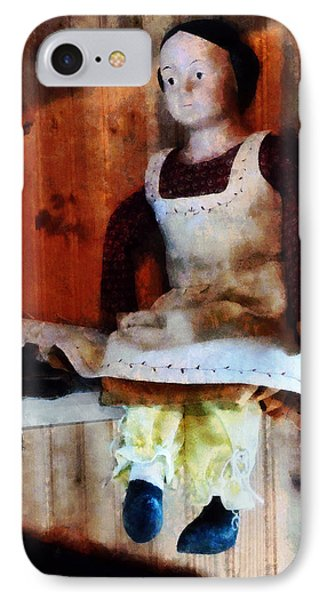 Bisque Doll Phone Case by Susan Savad