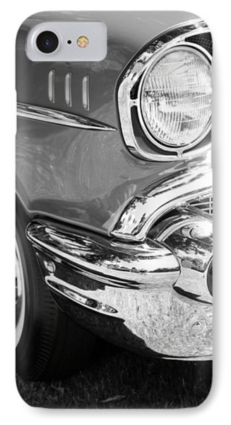Black And White 1957 Chevy Phone Case by Steve McKinzie