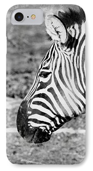 Black And White All Over IPhone Case by Elizabeth Budd