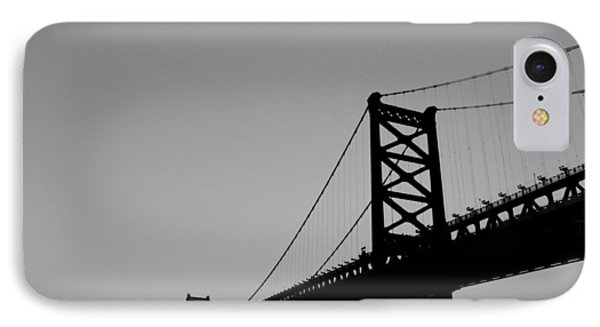 Black And White Bridge Phone Case by Bill Cannon