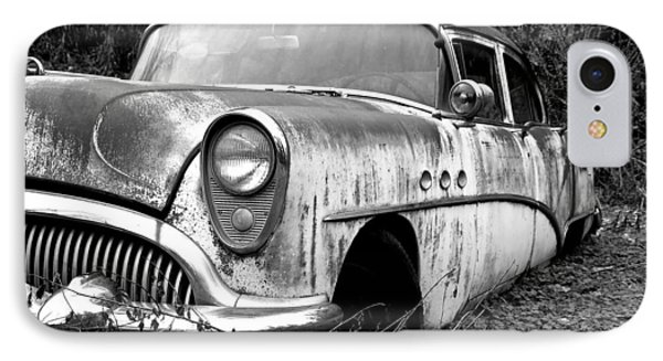 Black And White Buick Phone Case by Steve McKinzie