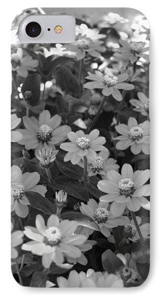 Black And White Flowers Phone Case by Amy Fose