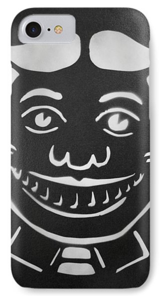 Black And White Tillie Phone Case by Patricia Arroyo