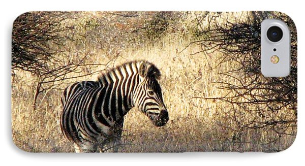 IPhone Case featuring the photograph Black And White by William Fields