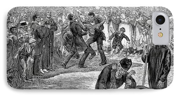 Black Baptism, 1887 Phone Case by Granger