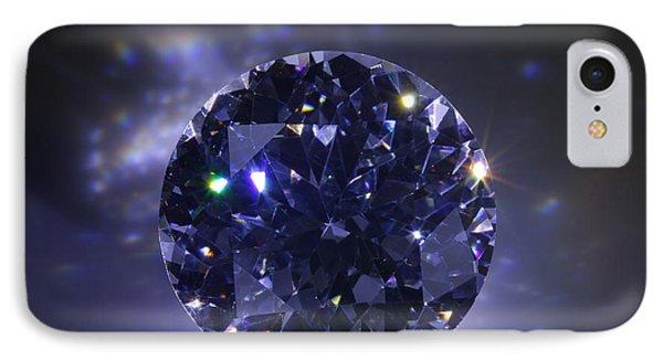 Black Diamond IPhone Case by Atiketta Sangasaeng