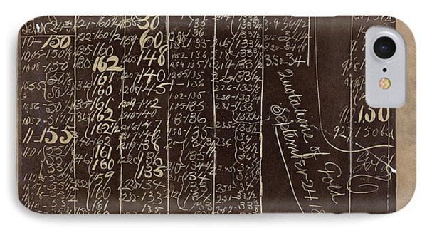 Black Friday Gold Prices, 1869 IPhone Case