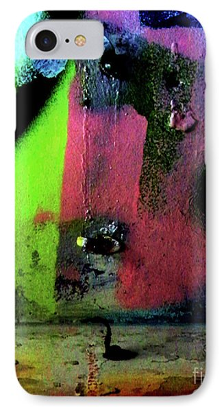 IPhone Case featuring the photograph Black Light by Newel Hunter