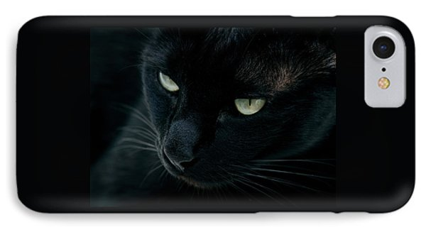Black Panther Phone Case by Laura Melis