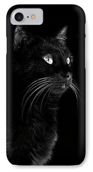 Black Portrait IPhone Case