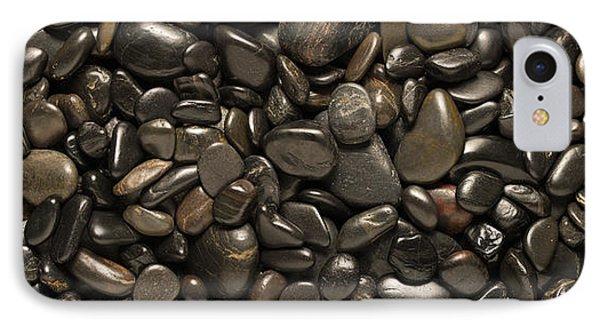 Black River Stones Landscape Phone Case by Steve Gadomski