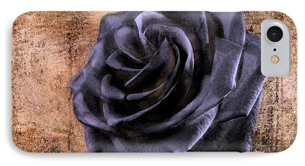 Black Rose Eternal   IPhone Case by David Dehner