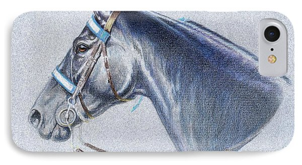 Black Tennessee Walker Phone Case by Carrie L Lewis