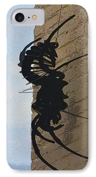 Black Widow Spider Art Phone Case by Karon Melillo DeVega