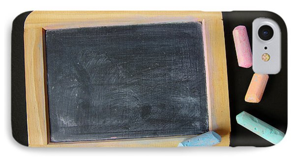 Blackboard Chalk IPhone Case