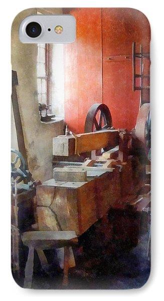Blacksmith Shop Near Windows Phone Case by Susan Savad