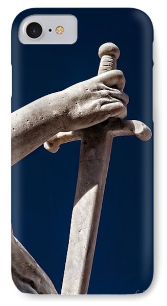 Blade In Hand Phone Case by Christopher Holmes