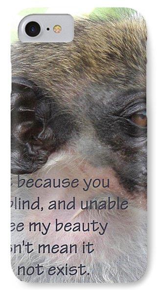 Blind Beauty Phone Case by Ian  MacDonald