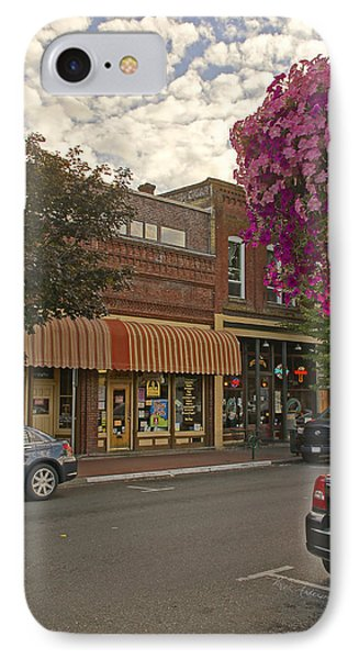 Blind Georges And Laughing Clam On G Street In Grants Pass Phone Case by Mick Anderson
