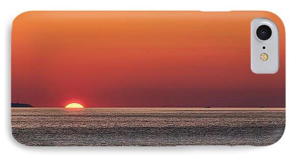 Block Island Sunrise Phone Case by William Jobes