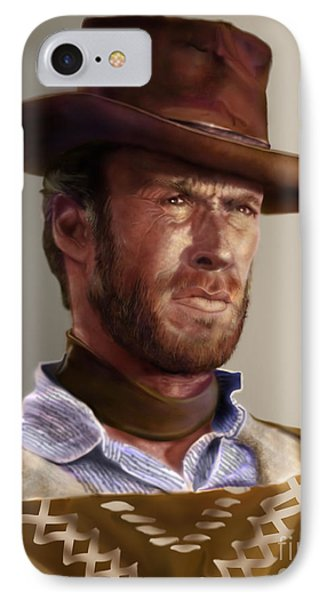 Blondie - Clint Eastwood Phone Case by Reggie Duffie