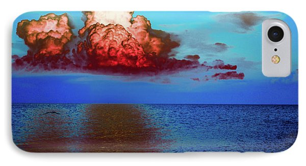 Blood Red Clouds Phone Case by Shannon Harrington
