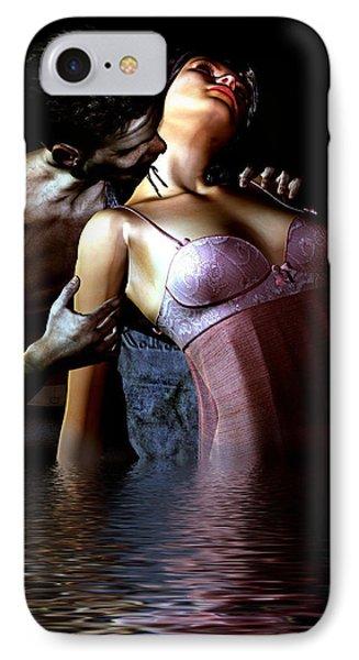 IPhone Case featuring the digital art Blood River by Maynard Ellis