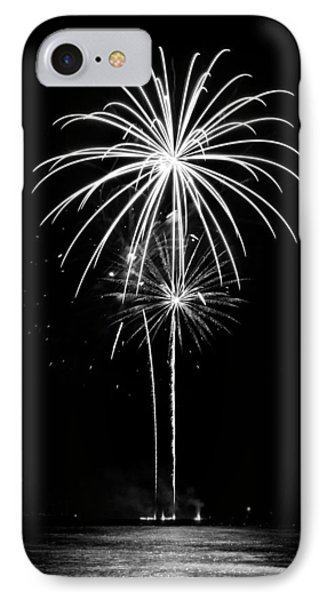 Blooming In Black And White Phone Case by Bill Pevlor