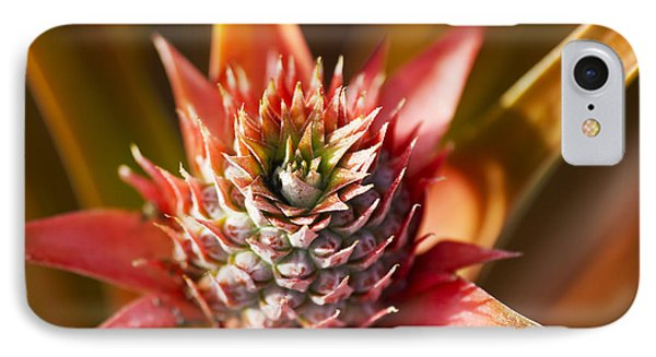 Blooming Pineapple Phone Case by Ron Dahlquist