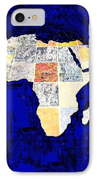 Blue Africa IPhone Case by Anne Mott