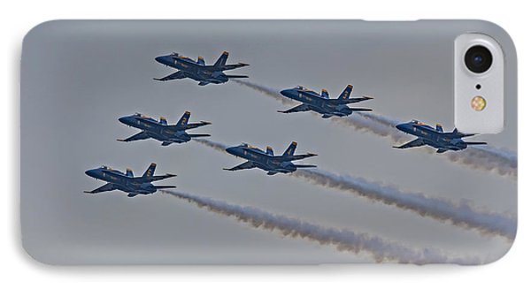 Blue Angels Phone Case by Susan Candelario