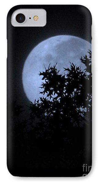 Blue August IPhone Case by Greg Patzer