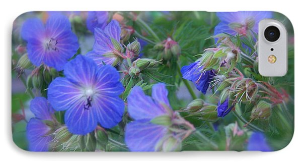 IPhone Case featuring the photograph Blue Beauties by Robin Regan