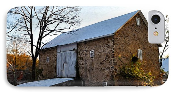 Blue Bell Barn Phone Case by Bill Cannon