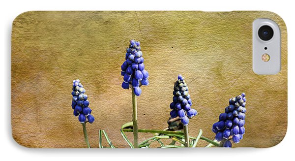 Blue Bells IPhone Case by Rick Friedle