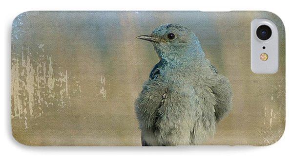 Blue Bird IPhone Case by Teresa Zieba