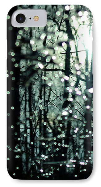 Blue Burns The Twilight Phone Case by Rebecca Sherman