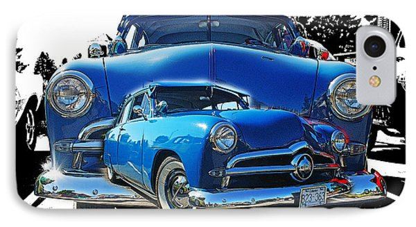 Blue Classic Dbl.hdr Phone Case by Randy Harris